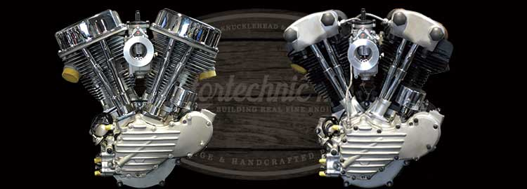 Motortechnic Pan Head & Knuckle Head