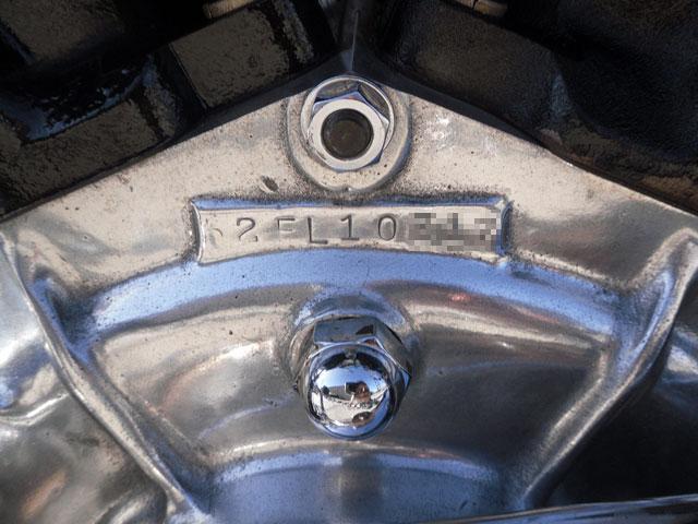 ハーレーダビッドソン 1962 FL Rigid pan 車体写真7