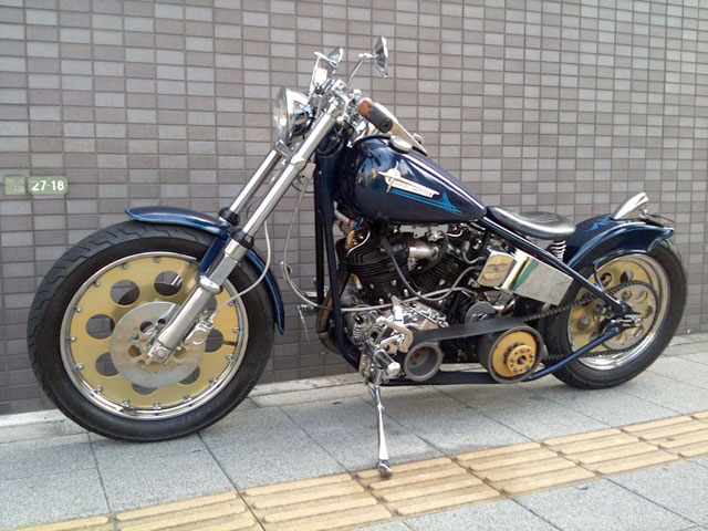 ハーレー Nnuckle Head Full Custom 車体写真2