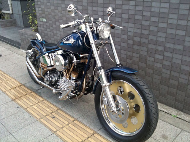 ハーレー Nnuckle Head Full Custom 車体写真3