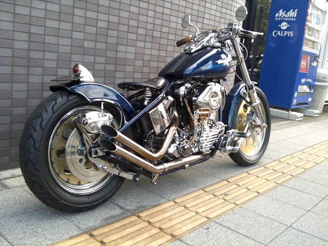 ハーレー Nnuckle Head Full Custom 車体写真4