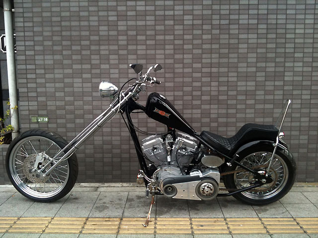 ハーレー New Chopper MYP First CSS 車体写真2