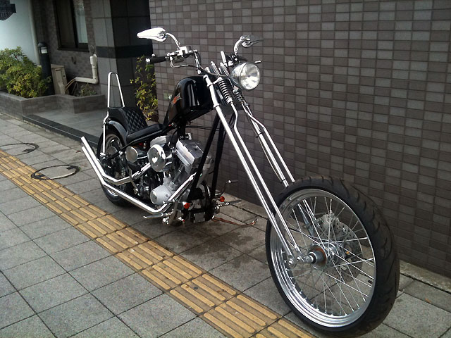 ハーレー New Chopper MYP First CSS 車体写真3