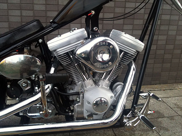 ハーレー New Chopper MYP First CSS 車体写真5