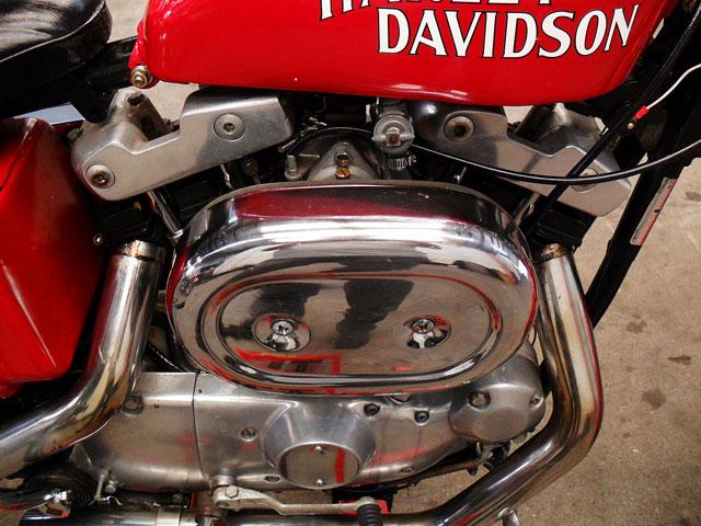 ハーレーダビッドソン 1974 XLCH 車体写真5