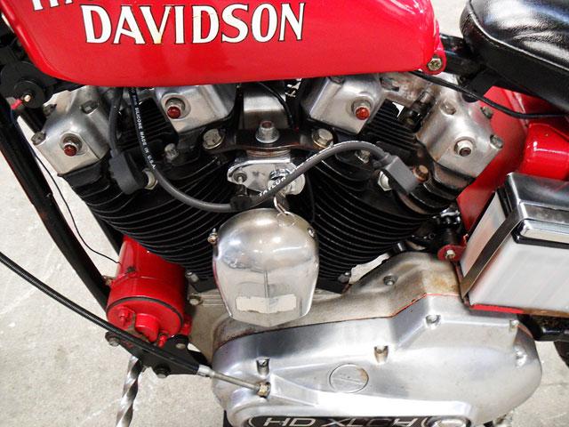 ハーレーダビッドソン 1974 XLCH 車体写真6