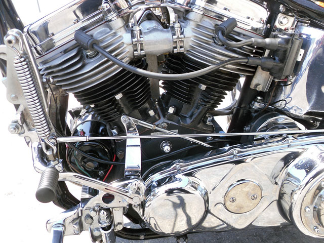 ハーレー FL Rigid pan chopper 車体写真5