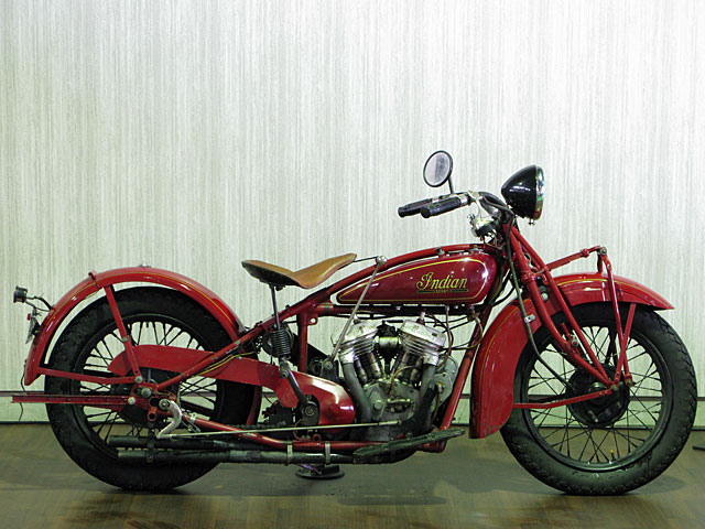 インディアン 1931 Indian Scout 101 車体写真1
