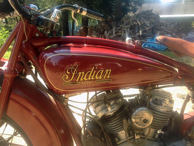 インディアン 1931 Indian Scout 101 車体写真8