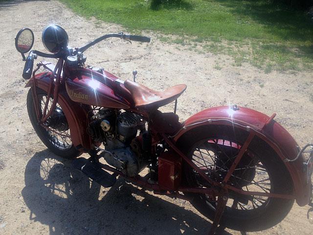 インディアン 1931 Indian Scout 101 車体写真10