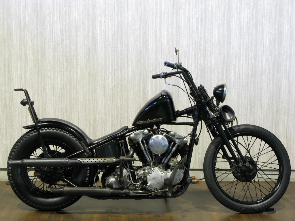 ハーレーダビッドソン 1937 EL 1000 Knucklehead 車体写真1