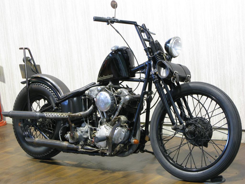 ハーレーダビッドソン 1937 EL 1000 Knucklehead 車体写真2
