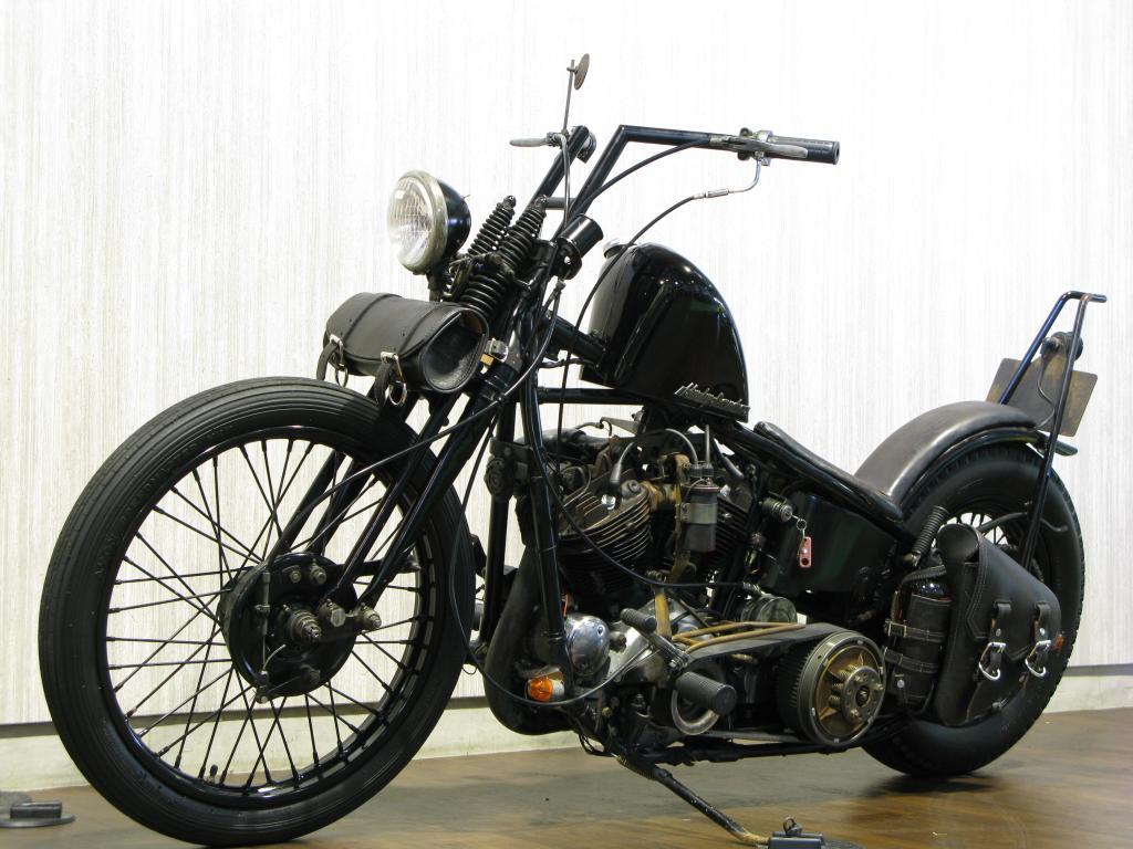 ハーレーダビッドソン 1937 EL 1000 Knucklehead 車体写真5