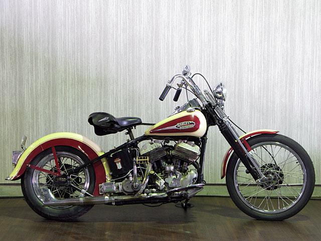 ハーレーダビッドソン 1938 UL  1200cc 車体写真1