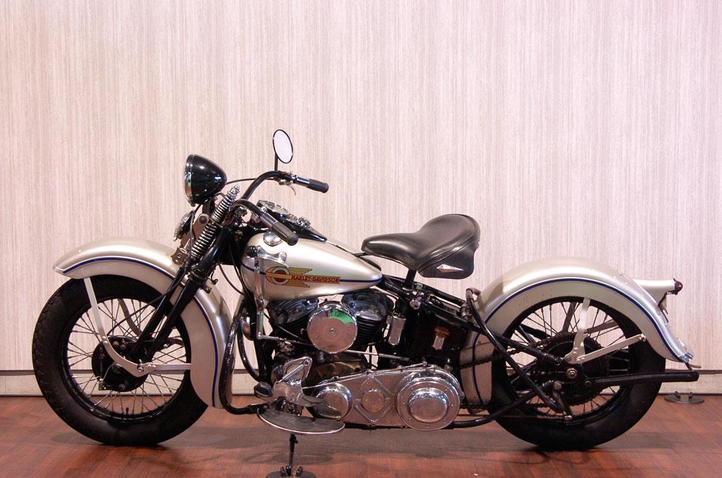 ハーレーダビッドソン 1938 UL 車体写真4