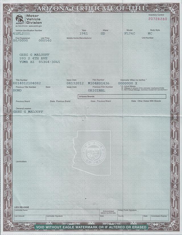 ハーレーダビッドソン 1941 FL 1200 Knuckle haed 車体写真12