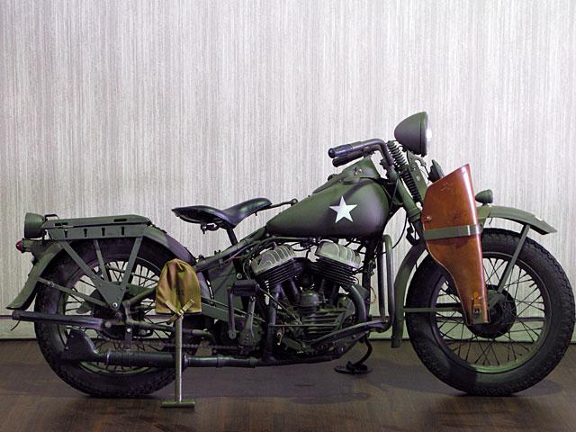 ハーレーダビッドソン 1941 WLA 車体写真1