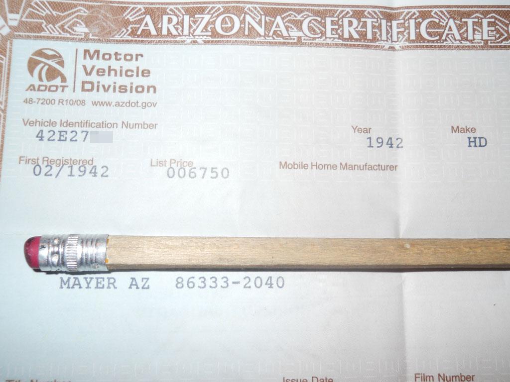 ハーレーダビッドソン 1942 E 1000 Custom 車体写真12