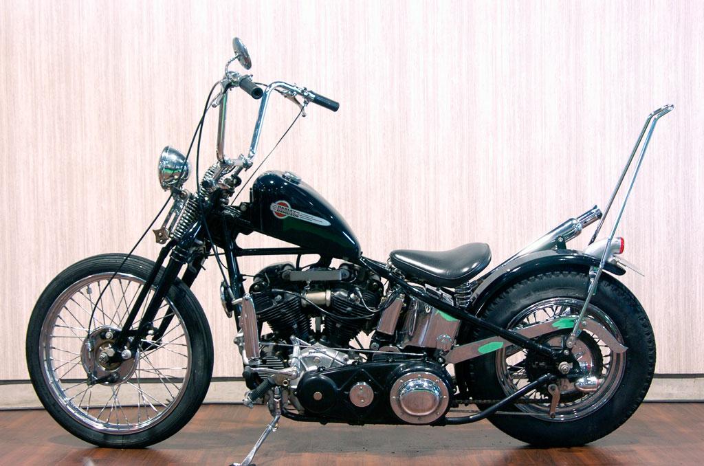 ハーレーダビッドソン 1942 E 1000 Custom 車体写真4