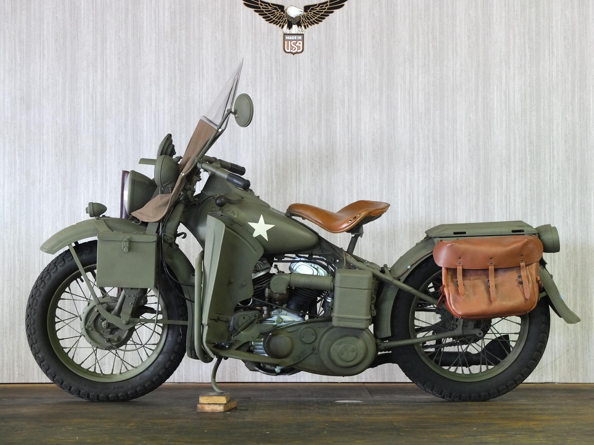 ハーレーダビッドソン 1942 WLA Army limited 車体写真4