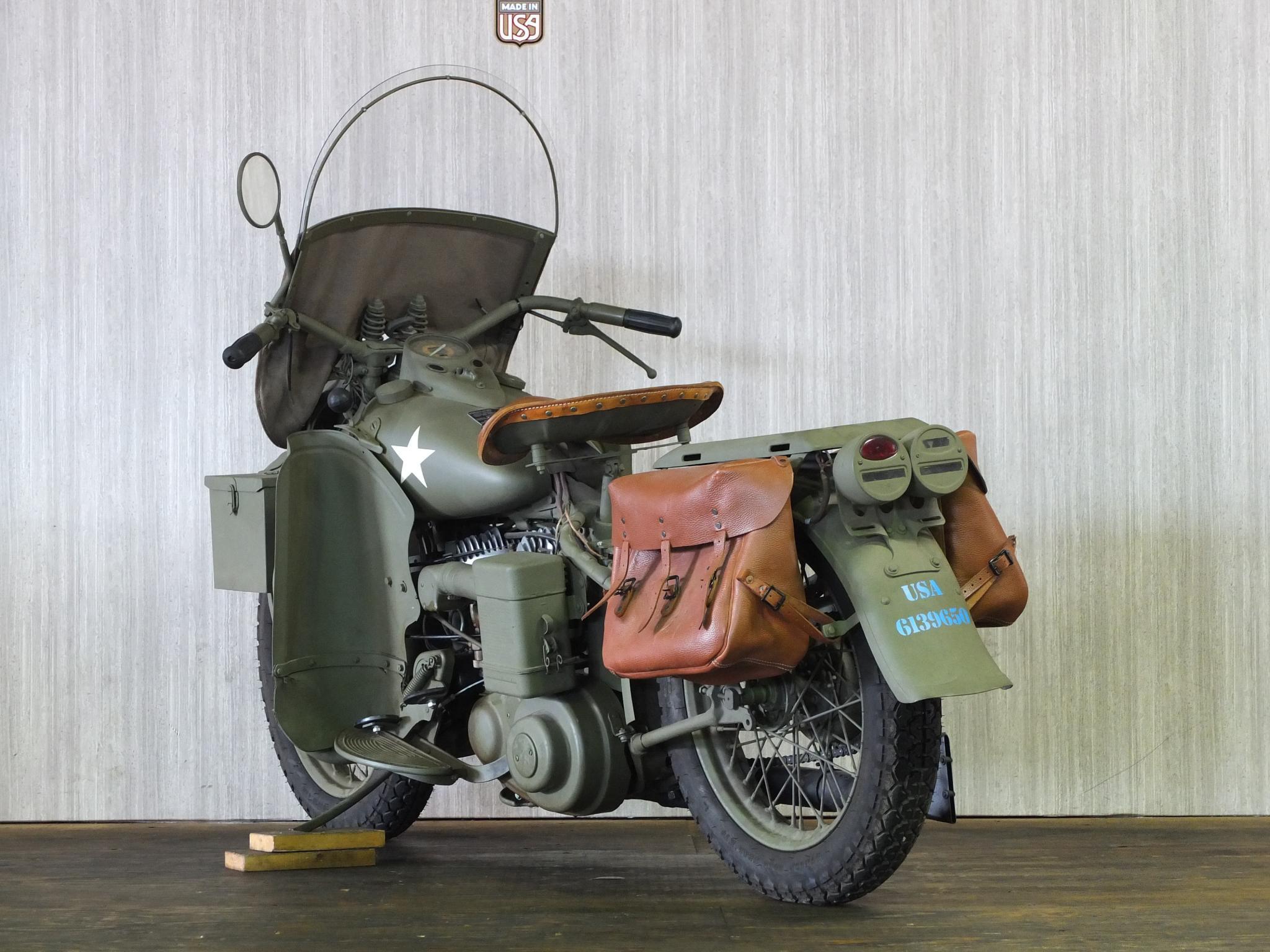 ハーレーダビッドソン 1942 WLA Army limited 車体写真6