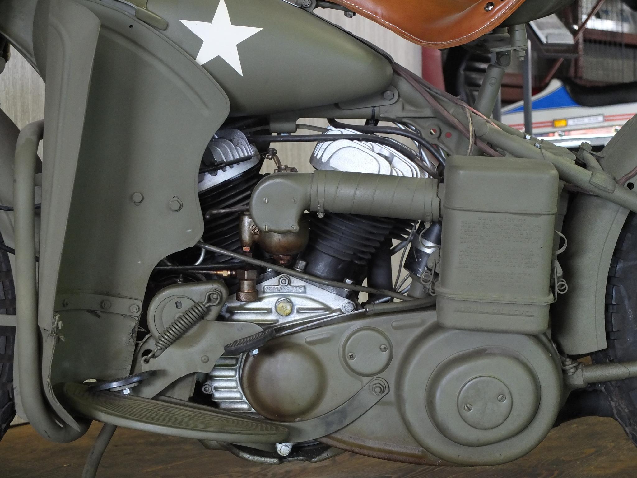ハーレーダビッドソン 1942 WLA Army limited 車体写真8