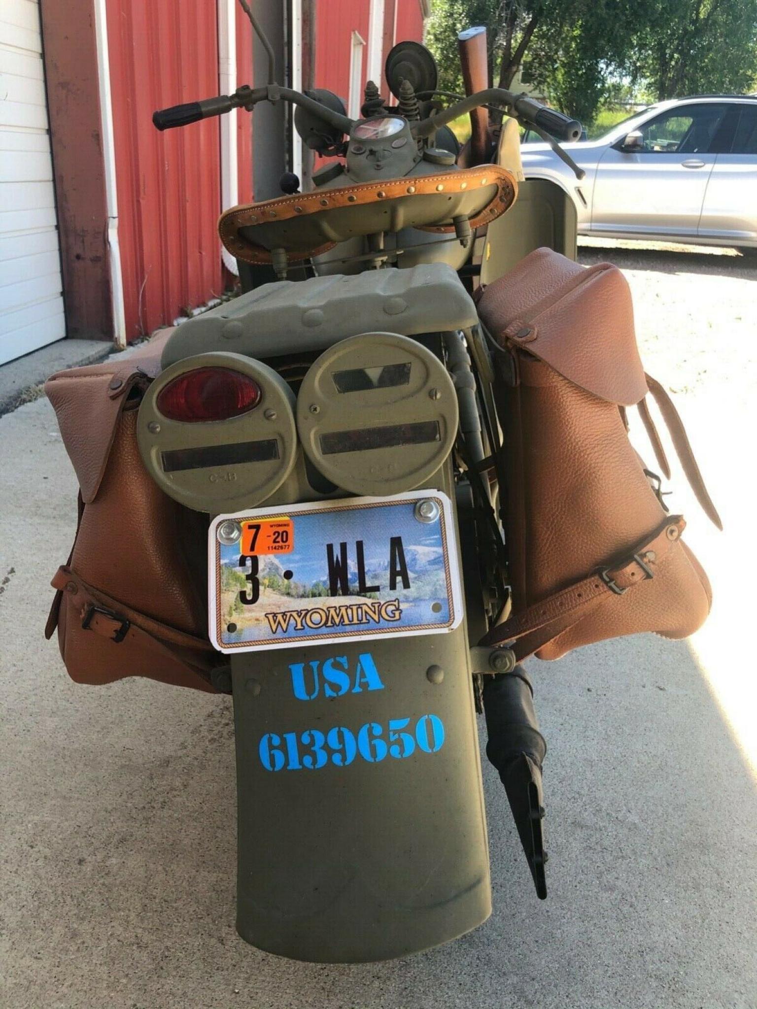 ハーレーダビッドソン 1942 WLA Army limited 車体写真5