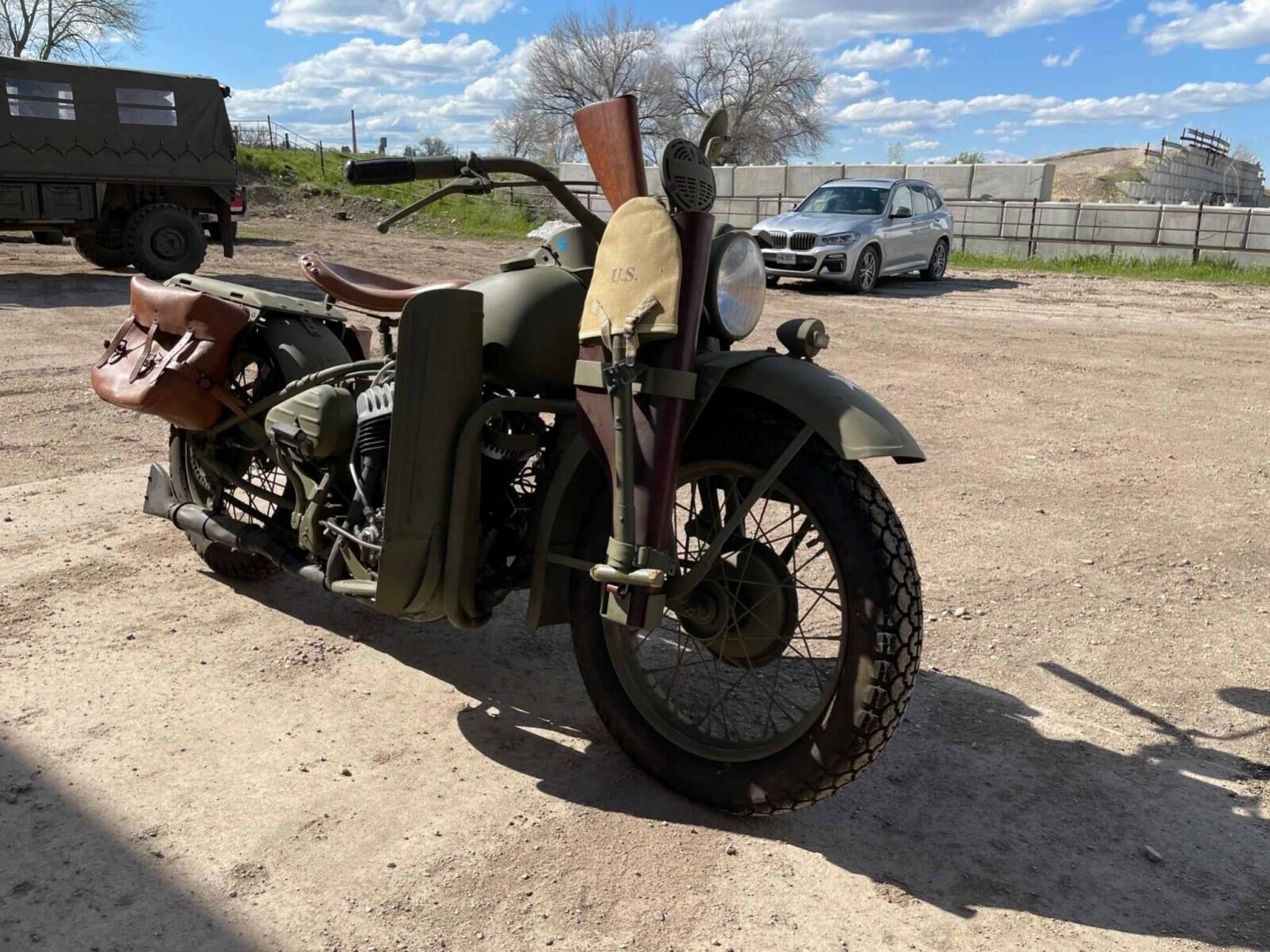 ハーレーダビッドソン 1942 WLA Army limited 車体写真7