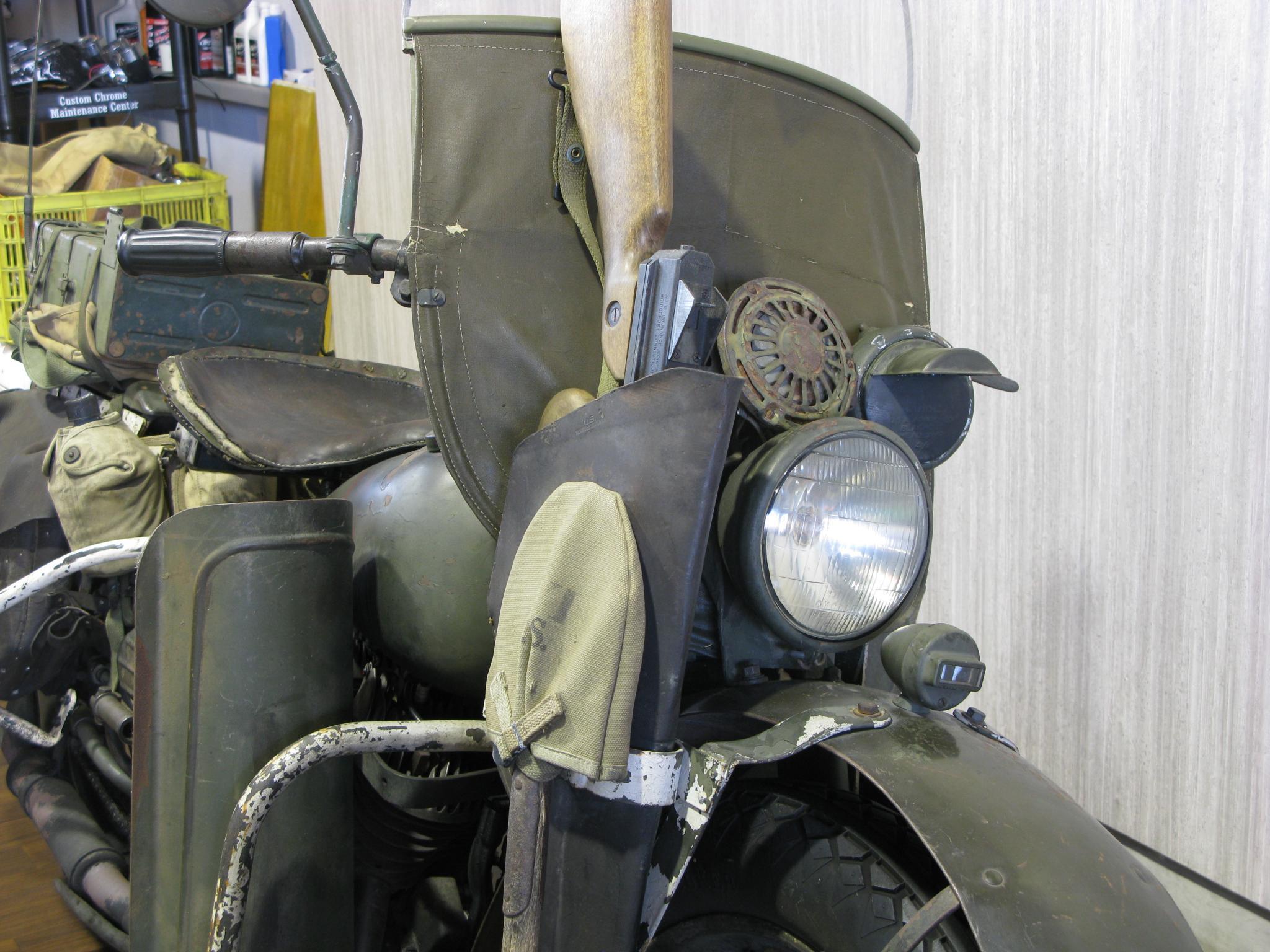 ハーレーダビッドソン 1942 WLA 車体写真10