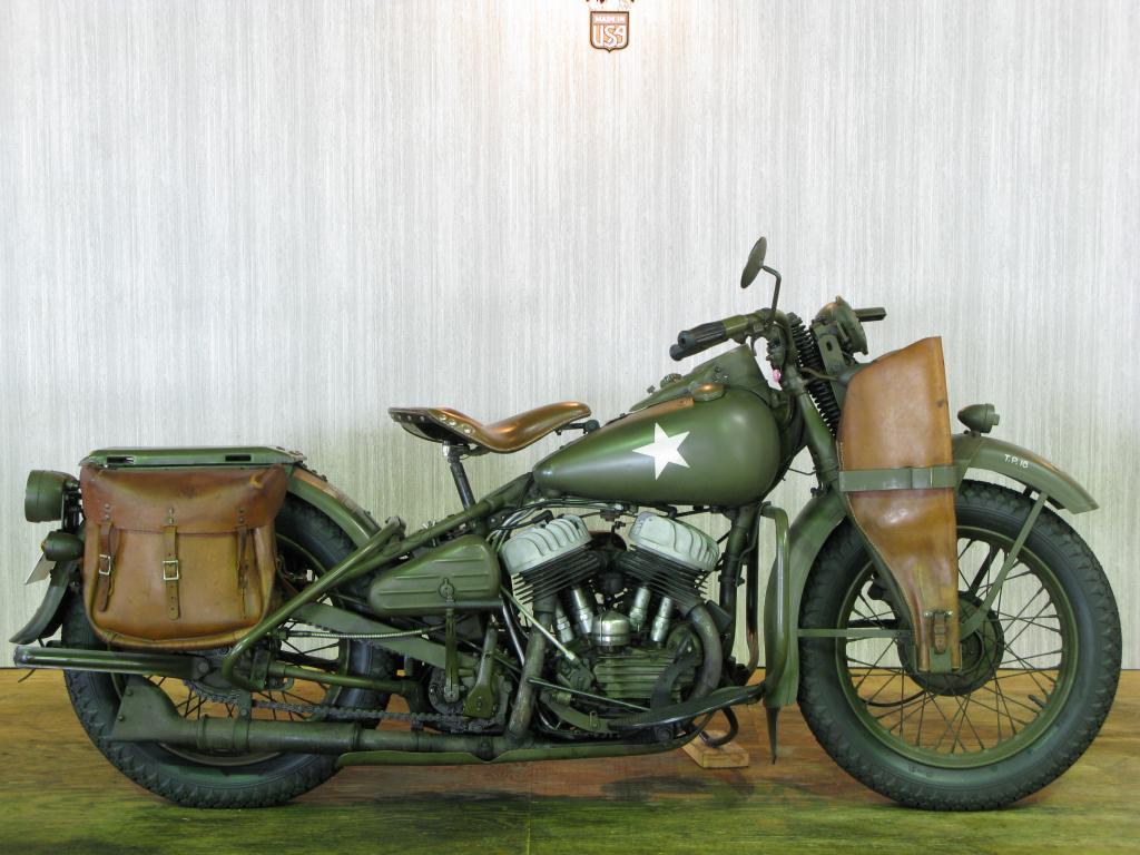 ハーレーダビッドソン 1942 WLA 車体写真1