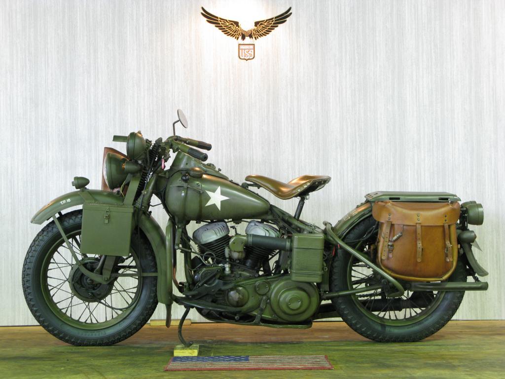 ハーレーダビッドソン 1942 WLA 車体写真4
