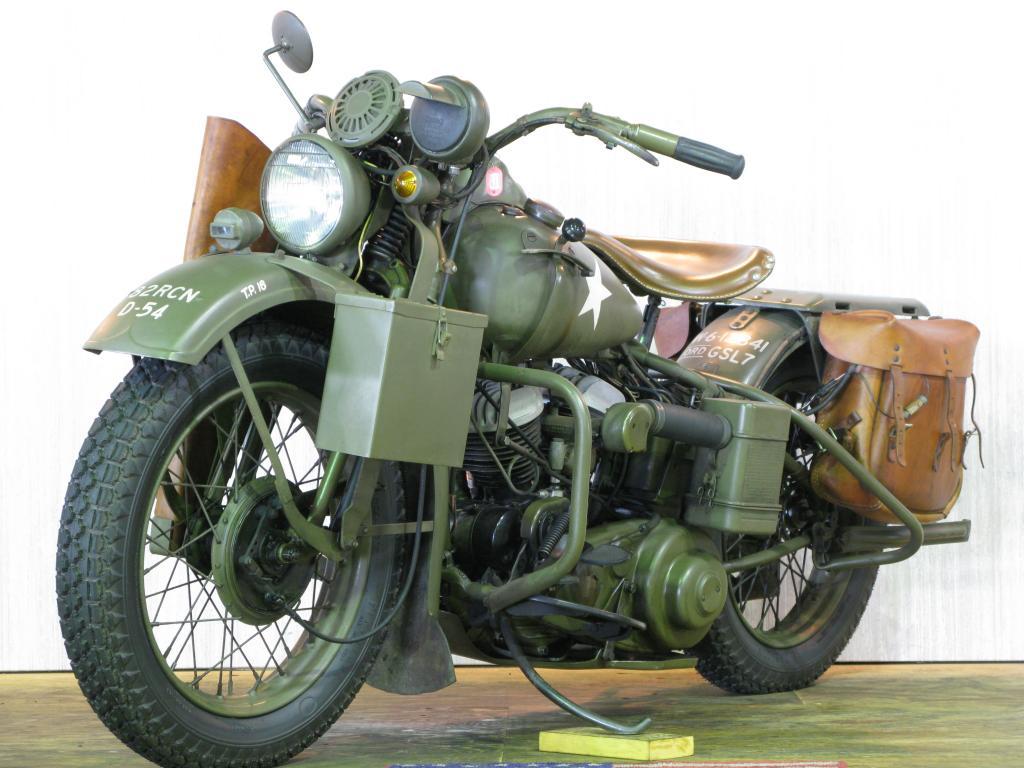 ハーレーダビッドソン 1942 WLA 車体写真5