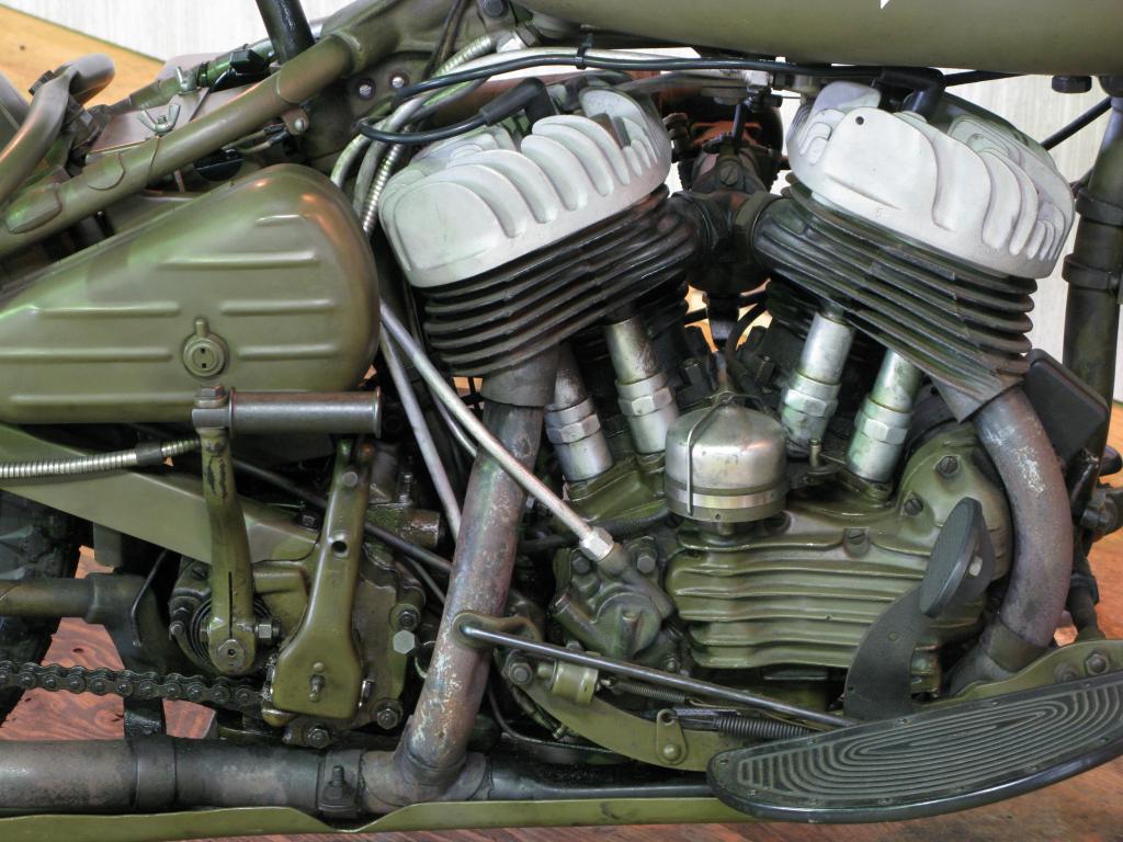 ハーレーダビッドソン 1942 WLA 車体写真7
