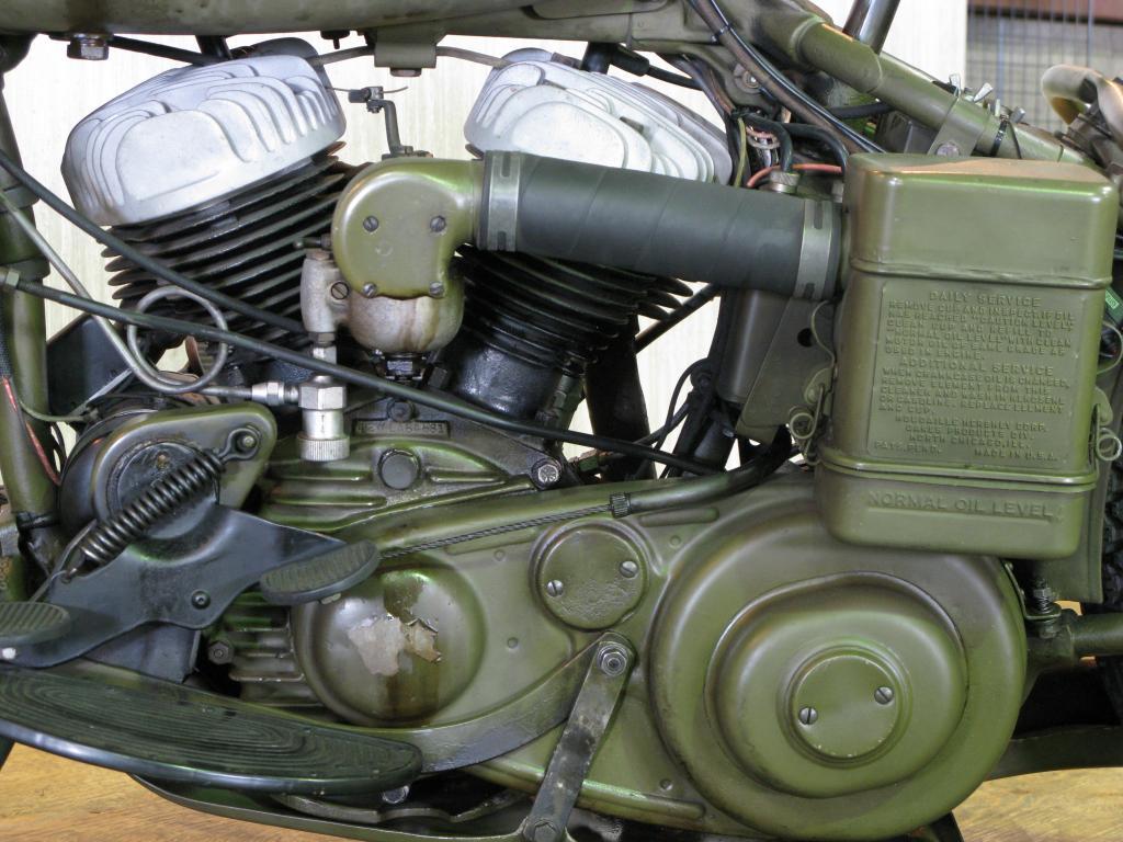 ハーレーダビッドソン 1942 WLA 車体写真8