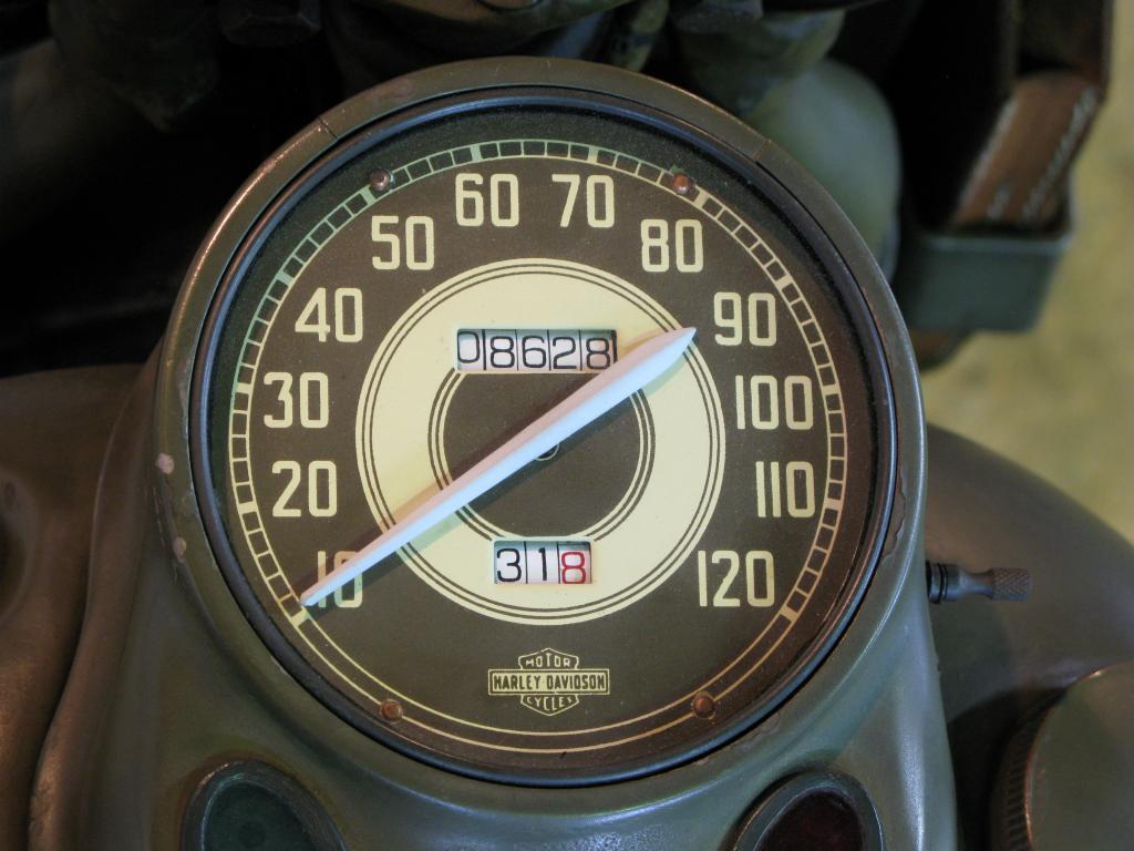 ハーレーダビッドソン 1942 WLA 車体写真9