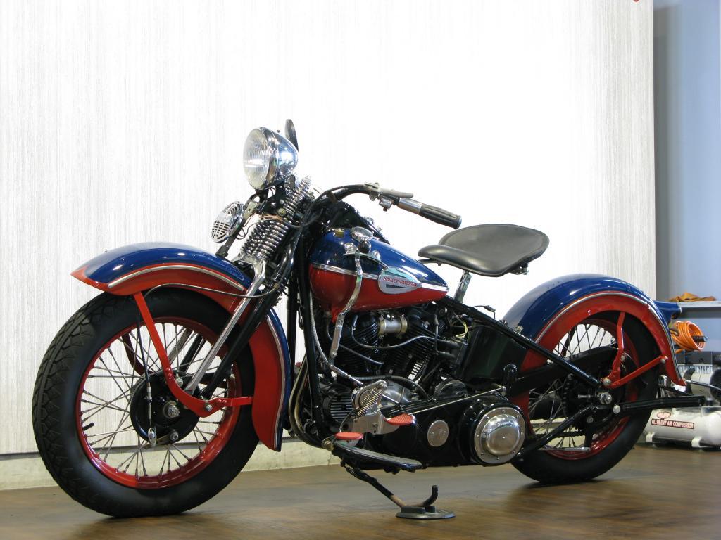 ハーレーダビッドソン 1946 FL 1200 車体写真5