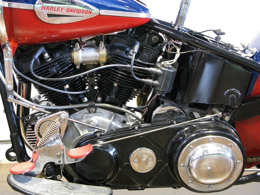 ハーレーダビッドソン 1946 FL 1200 車体写真8