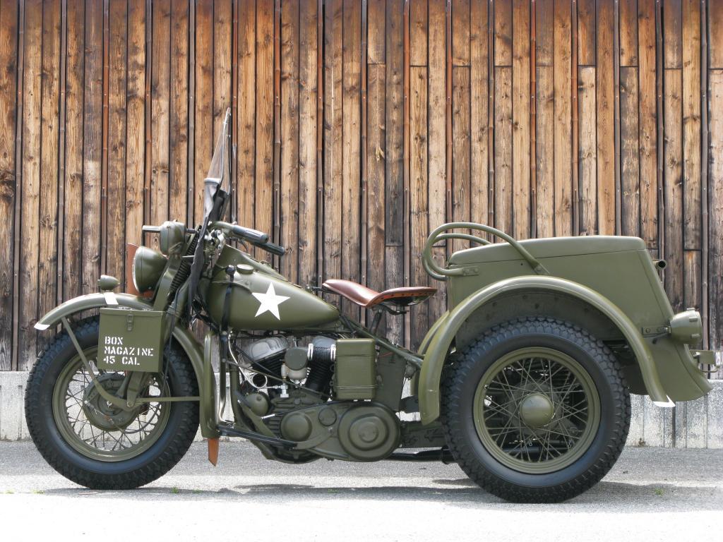 ハーレーダビッドソン 1946 G Army service car 車体写真4