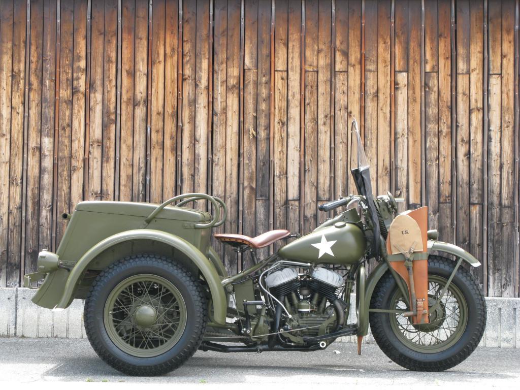 ハーレーダビッドソン 1946 G Army service car 車体写真1