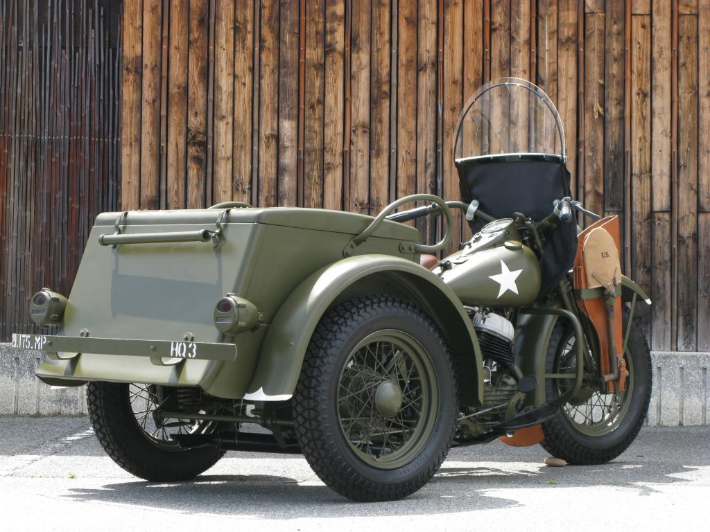 ハーレーダビッドソン 1946 G Army service car 車体写真3