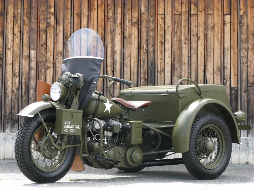 ハーレーダビッドソン 1946 G Army service car 車体写真5