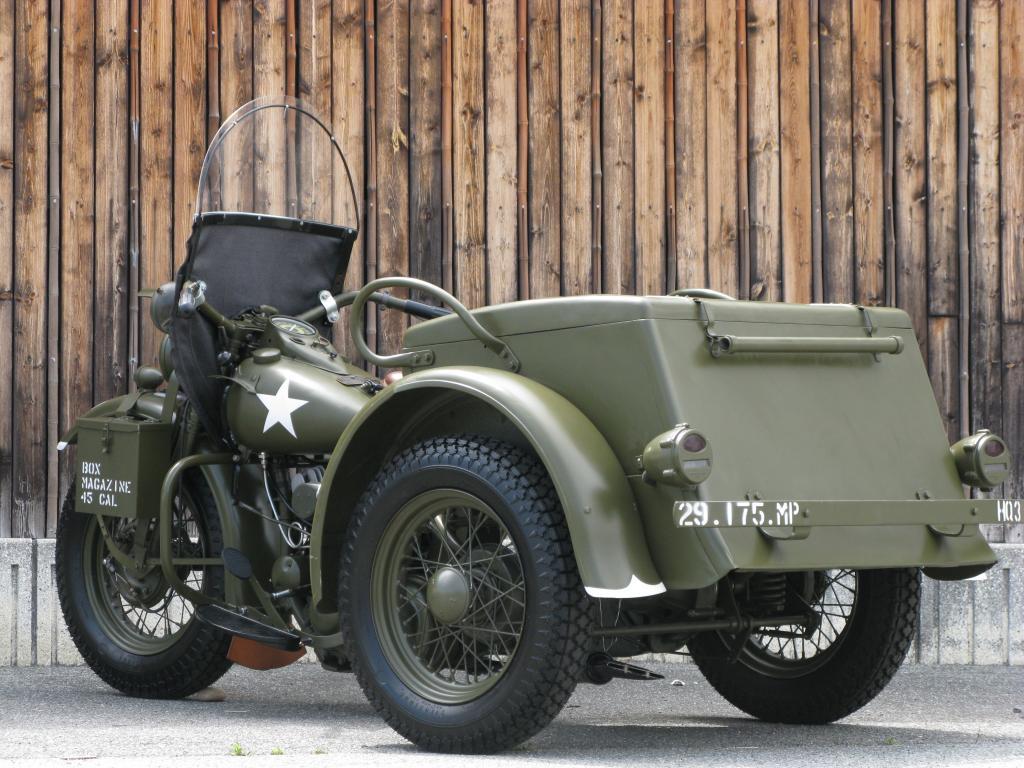 ハーレーダビッドソン 1946 G Army service car 車体写真6