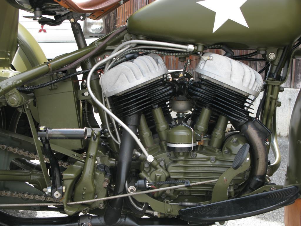 ハーレーダビッドソン 1946 G Army service car 車体写真7