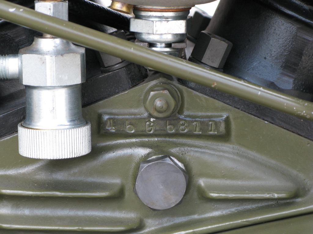 ハーレーダビッドソン 1946 G Army service car 車体写真11