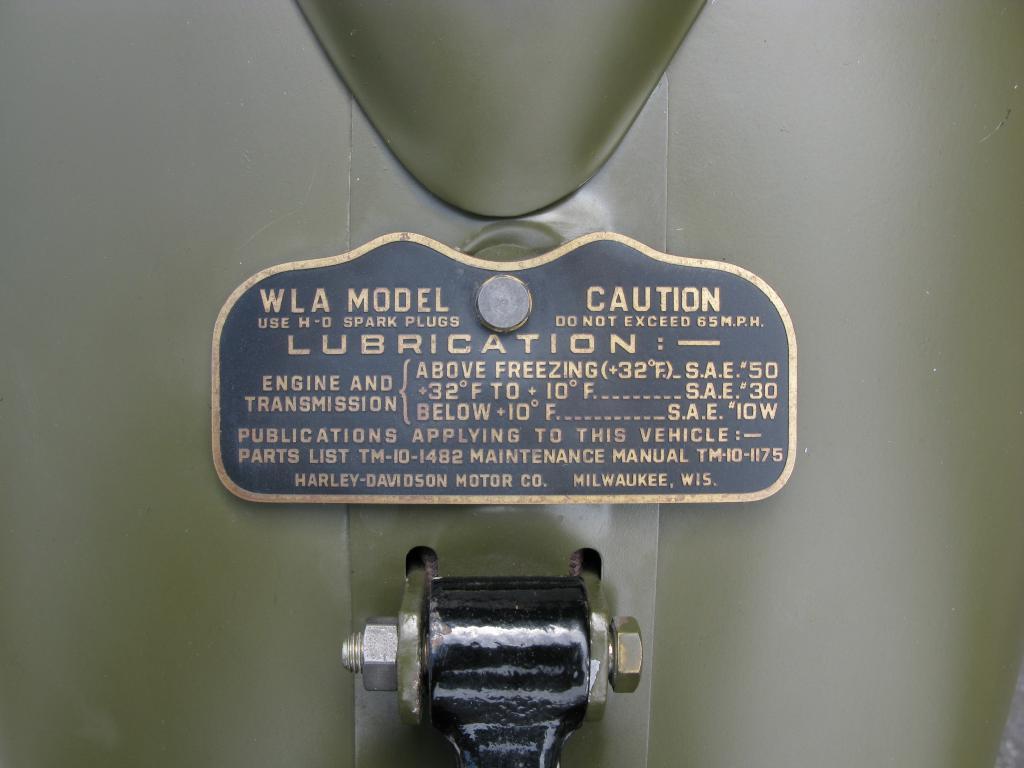 ハーレーダビッドソン 1946 G Army service car 車体写真8