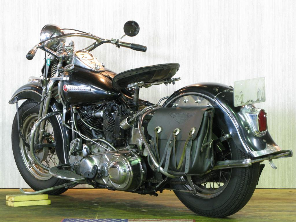 ハーレーダビッドソン 1947 EL 1000 車体写真6