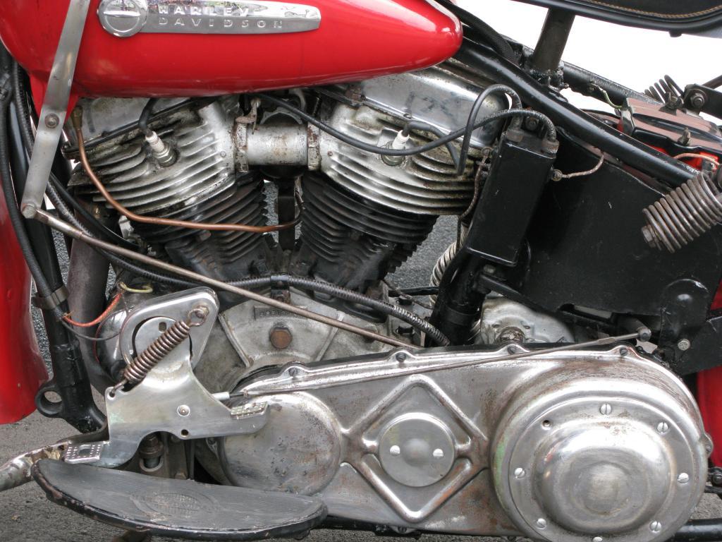 ハーレーダビッドソン 1948 EL 1000 車体写真8