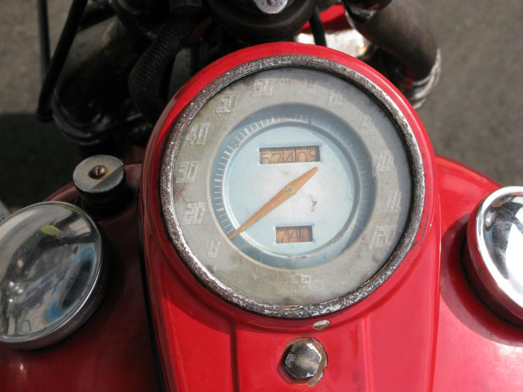 ハーレーダビッドソン 1948 EL 1000 車体写真9