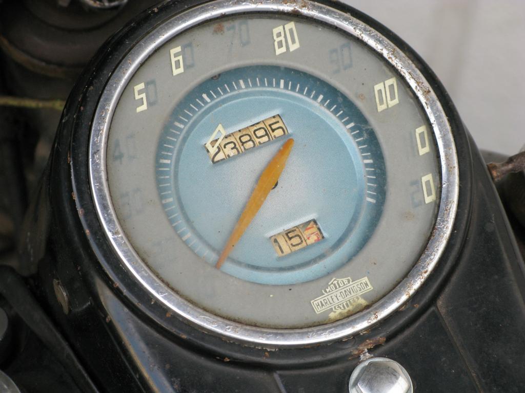 ハーレーダビッドソン 1948 FL 1200 車体写真9