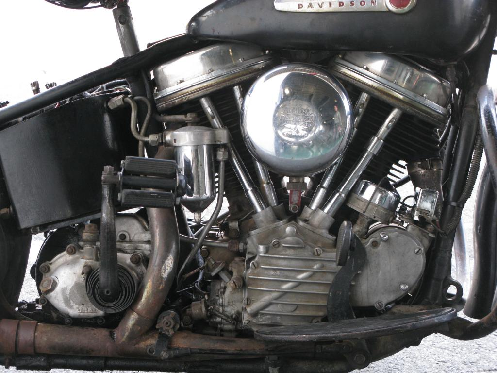ハーレーダビッドソン 1948 FL 1200 車体写真7